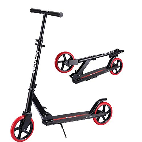 Adult Scooter 79inch Kick Scooter for Kids 8 Years and Up Foldable amp Adjustable Aluminum Scooters with Rear Brake Design