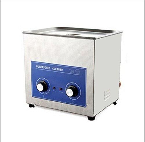 Gowe 3.2l acier inoxydable Nettoyeur à Ultrasons Bain à ultrasons avec minuterie et chauffage (Y Compris waesche Box)