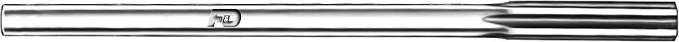 F&D Tool Company 27210 Chucking Reamers, High Speed Steel, Straight Flute, Fraction, Wire and Letter Sizes-0.3135, 0.3135 Decimal Equivalent, 1 1/2