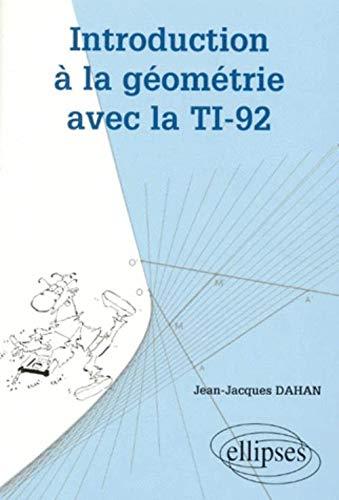 Introduction à la géométrie avec la TI-92