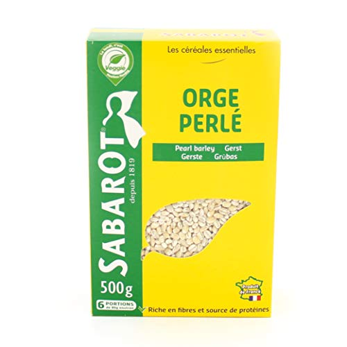 SABAROT Semoule Orge Perlé Origine France 500 g