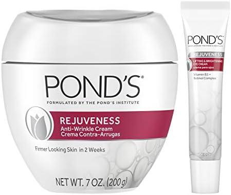 Pond s Anti Wrinkle Cream and Eye Cream Anti Aging Face Moisturizer Rejuveness Eye Wrinkle Cream product image