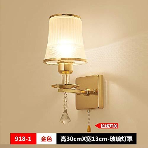 Trekschakelaar wandlamp creatieve bedlampje LED balkonlamp