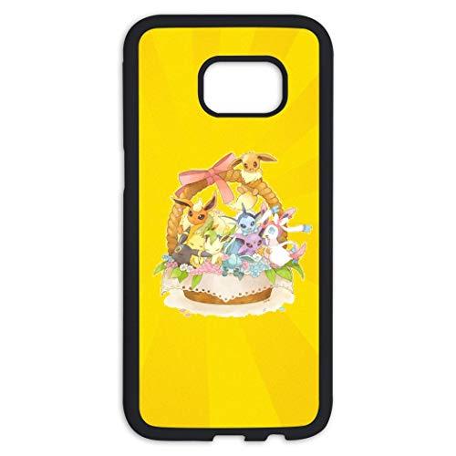 Pok-emon Cases Samsung Galaxy S7 Edge Hülle Samsung Galaxy S7 Edge TPC Case, 485PQOW-09B-AA7, Schwarz , Einheitsgröße