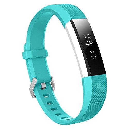 Baaletc Ersatz-Armband für Fitbit Ace, weich, für Fitbit Ace, Cyanblue