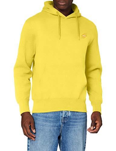 Superdry Collective Hood BR suéter, Amarillo Náutico, M para Hombre