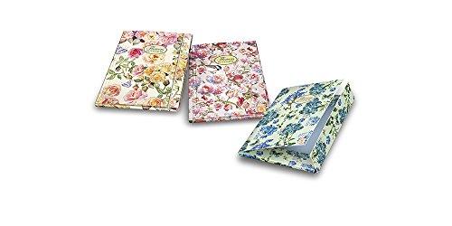 Pigna Nature Flowers Cartella 3 Lembi con Elastico