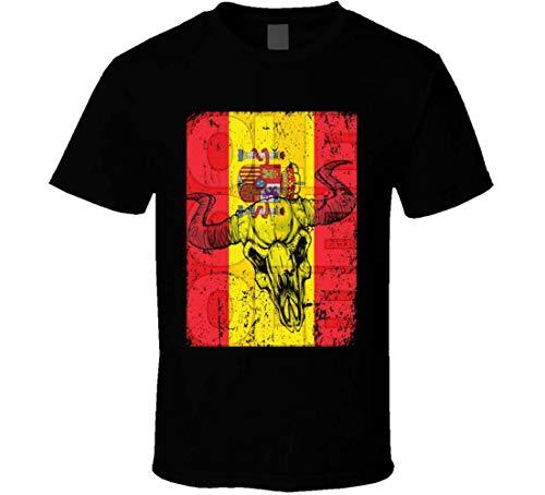 Camiseta De Fútbol España  marca Cotton