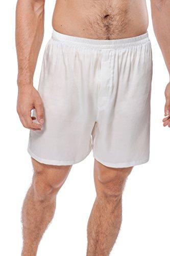 TexereSilk Men's 100% Silk Boxers Underwear