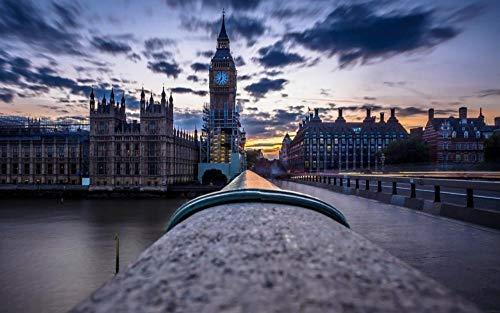 OKOUNOKO Puzzles 150 Piezas, Big Ben, Londres, Reino Unido, Decoración para El...