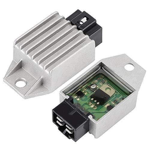 12 V Universal-Gleichrichter mit Spannungsregler, 4-polig, Gleichrichter für Scooter, Moped, ATV, Gokarts Buggie GY6, 50 cc bis 150 cc