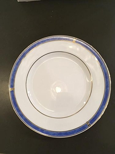 Christofle Oceana Blue Porcelaine Bread and butter plate (cocktail plate) 6.25""