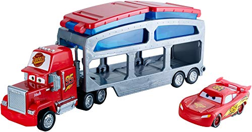 Disney Cars color change transportador de coches de juguete (Mattel CKD34)