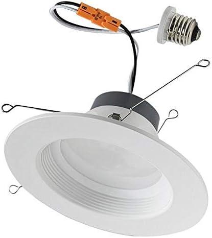 Superior Lighting 6 Inch Led Can Lights Recessed Lighting Retrofit 16 5 Watt 1400 Lumens 3000K product image