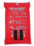 Toneeko Coperte antincendio in vetroresina per sopravvivenza di emergenza,...