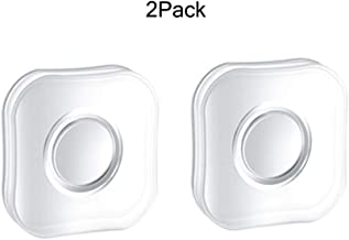 2 Pack,Multipurpose Super Sticky Silicone Gel Pads Anti-Slip Nano Gripping Pads Universal Sticker for Car Home Cell Phone,Keys,Washable Gel Pads,Stick Anything Anywhere