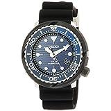[セイコーウォッチ] 腕時計 プロスペックス ソーラーダイバーズ Save the Ocean限定 青文字盤 SBDJ045 メンズ ブラック