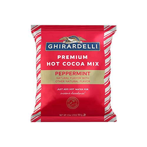 Ghirardelli Premium Hot Cocoa Mix Peppermint Flavored 32 oz