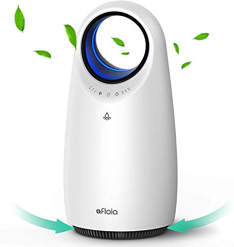 Afloia Air Purifier For Home with True HEPA H13 Filter, Portable Air Cleaner Remove 99.97% Dust Smoke Pollen Pet Hair in Bedroom Kid's Room Office, Super Quiet Air Filter with Timer, Sleep Mode