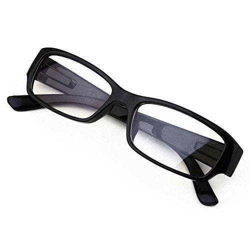 Queenbox® Handelsbüro Computer Lesebrille Blaulichtfilter Anti-Ermüdung Brillen Entspiegelung, Anti Nebel, UV und Computer/TV Elektromagnetisch Schutz vor Radioaktivität - Kratzfeste Gläser