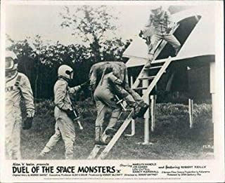 Duel of Space Monsters Frankenstein Meets Lobby Card