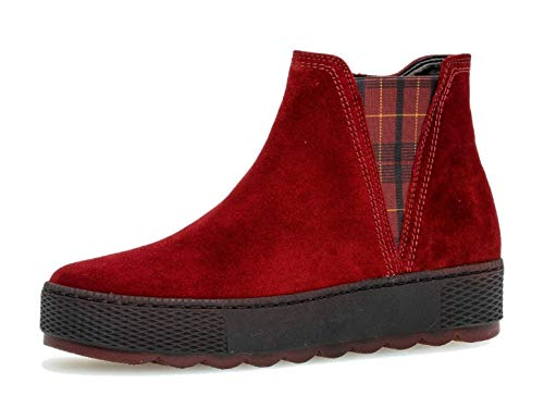 Gabor Damen Stiefelette 36.560, Frauen Chelsea Boots,Stiefel,Halbstiefel,Bootie,Schlupfstiefel,flach,doper(S.r/s/Kar/Me,37 EU / 4 UK