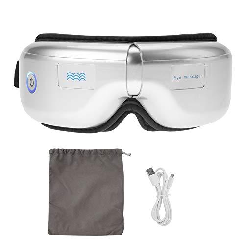 Masajeador eléctrico plegable de ojos, masajeador eléctrico con cierre a presión, instrumento...