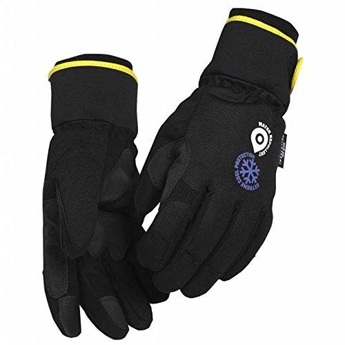 Winterhandschuh Handwerk Schwarz