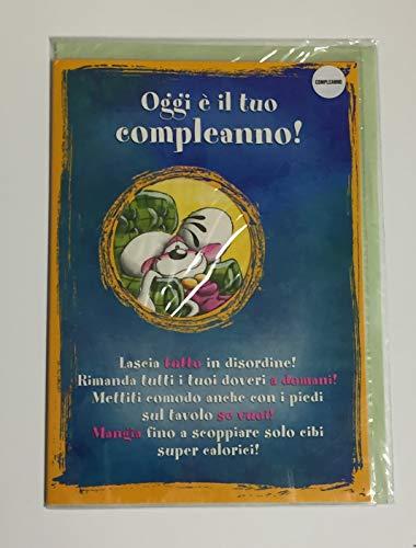 Geburtstagskarte DIDDL 20 x 28 cm