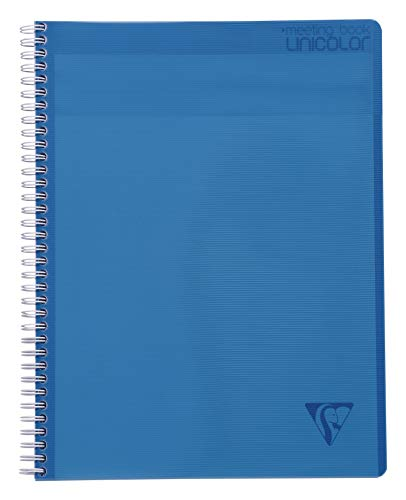 Clairefontaine ''Linicolor'' Meeting Book, A4+, 160 Pages - Blue