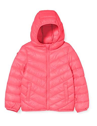 United Colors of Benetton Baby-Mädchen Giubbotto Sportjacke, Pink (Pink Peacock 2l3), 80/86 (Herstellergröße: 1y)