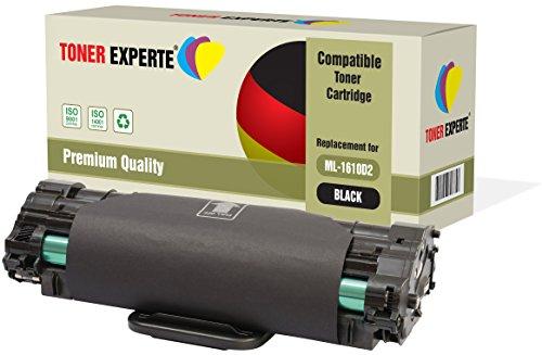 TONER EXPERTE® ML-1610D2 Toner compatibile per Samsung ML-1610, ML-1615, ML-1620, ML-1625, ML-1650, ML-2010, ML-2015, ML-2510, ML-2570, ML-2571, ML-2571N, SCX-4321, SCX-4521, SCX-4521F, Dell 1100