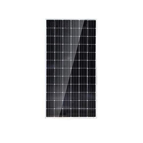 YILANJUN 300/380W 24V Monocristalino Panel Solar, Ahorro Energético, Módulo Solar, Módulos Fotovoltaicos, para Casa, Jardín, Barco, Carga para Batería de 24v