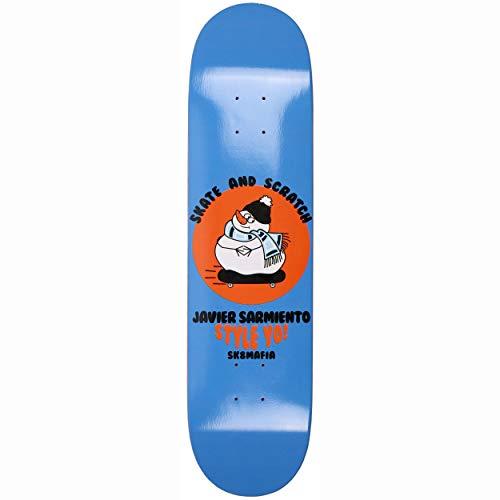 SK8 Mafia Skate and Scratch Skateboard Deck - Sarmiento 7.7'