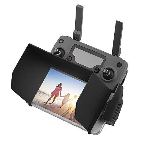 HeiyRC 5.5 inch Drone Remote Control Sun Shade Hood for DJI Mavic Mini,Mavic 2 Zoom,Mavic Pro,Mavic Air,Spark,Phantom 3 4,Inspire 1,fit for iPhone 6 Plus 7Plus