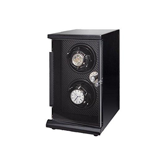 MEI XU Caja de Reloj - Tipo de Caja de exhibición de Reloj Mesa de coctelera Mesa giratoria Caja de Almacenamiento de joyería Caja de Reloj de Silencio Caja De Almacenaje (Color : B)