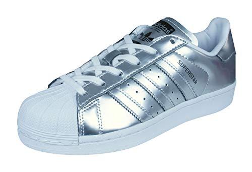 adidas Damen Superstar Cg3681 Sneaker Einheitsgröße Silber/weiß