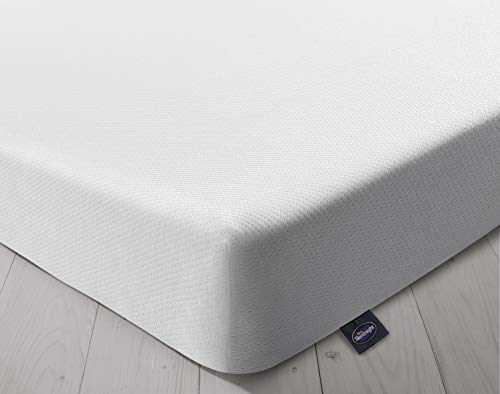Silentnight Comfort Rolled Foam Mattress | Medium Soft | Single, White