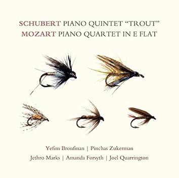 "Schubert: Piano Quintet ""Trout""; Mozart: Piano Quartet in E-flat"