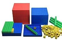 Contenu: 100 jetons, 10 baguettes de dix, 10 plaques de cent, 1 cube de mille, dimensions 1 cm Compatibilité: Cubes de calcul pour l'école primaire, matériel d'apprentissage, le choix idéal pour combler des lacunes en calcul. Apprentissage : Représ...