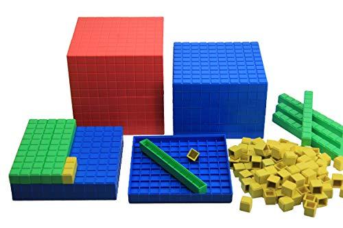 WISSNER® aktiv lernen - Set de calcul décimal de base, 121 pces en bte carton - RE-Plastic®