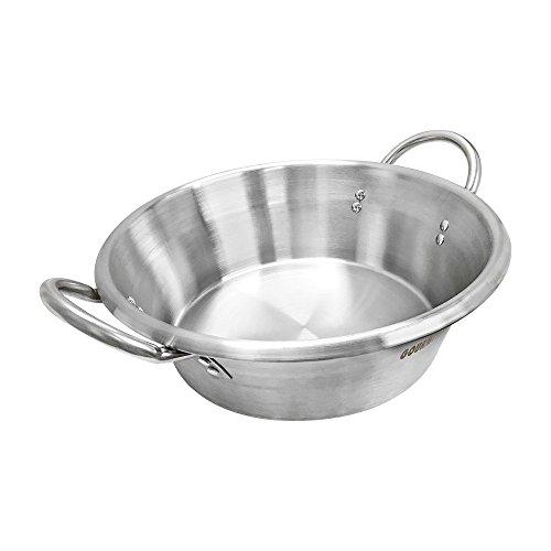 16  W x 5-1 2  D Carnitas Cazo Stainless Steel Caso Pot Pan Wok Gas Stove Burner Cook
