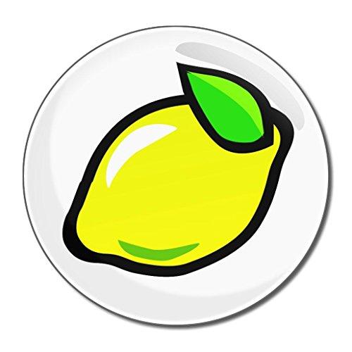 Fruit Machine Lemon - Miroir compact rond de 55 mm