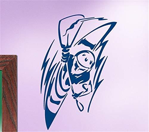 pegatina de pared frases pegatinas decorativas pared Paseos en bote en el dormitorio de la casa Walter Sport Series Casa de pared Kayak en el agua blanca Decoración extrema