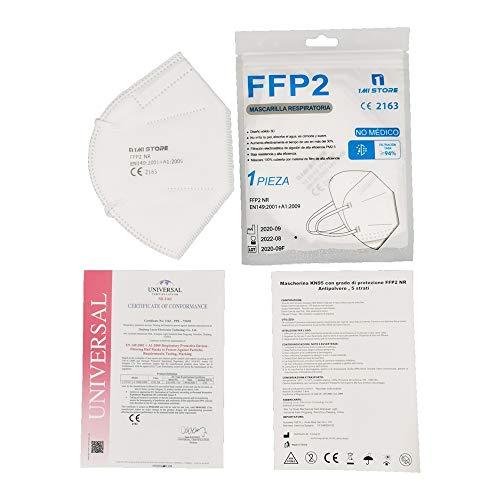 Eurekaled 20 Stück Atemschutzmaske Kn95 / FFP2 Atemschutzmaske Staubschutz 4-lagig - 7
