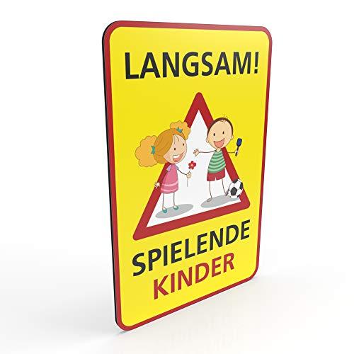 Betriebsausstattung24 Hinweisschild für Spielstraßen/verkehrsberuhigte Straßen  ...