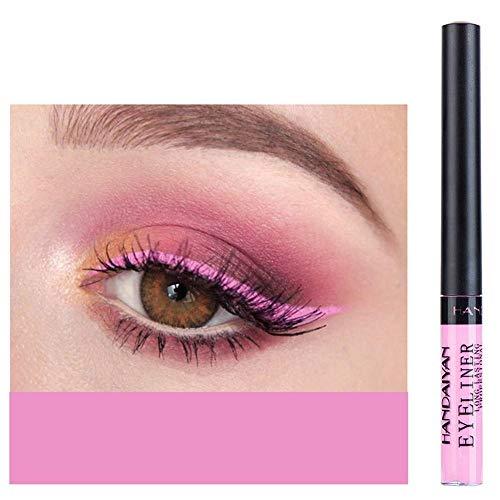 Blue Vessel 1pc Eyeliner Liquid matt Makeup Eyeliner Makeup Auxiliar Lidschatten (02#)