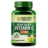 Himalayan Organics Plant Based Vitamin C with Zinc (120...