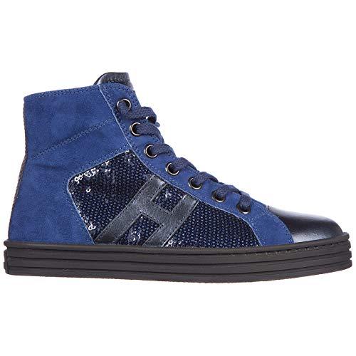 .Hogan Rebel Baby r141 high-top Sneakers blu 13 US Child