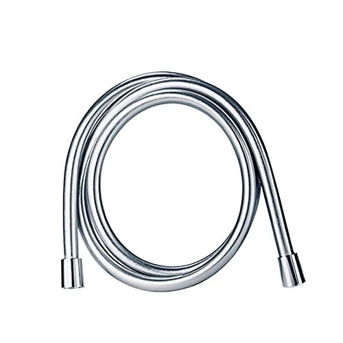 TSAUTOP Newest Manguera de Ducha Suave de Plata de Alta presión de PVC de 1,5 / 2M PVC para Manguera de Ducha Flexible para Tubo de Ducha de Mano (Length : 150cm)
